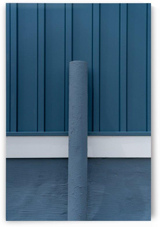 Blue Wall by Michael Pierce