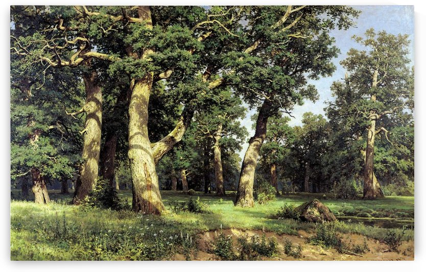 Oak Grove by Ivan Shishkin