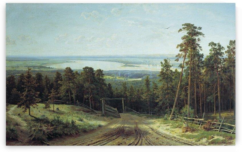 The kama near Yelabuga by Ivan Shishkin