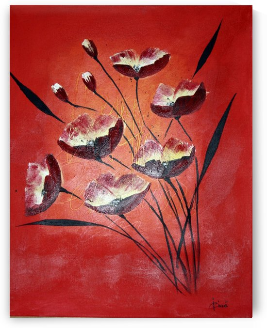 Poppies by Iulia Paun ART Gallery