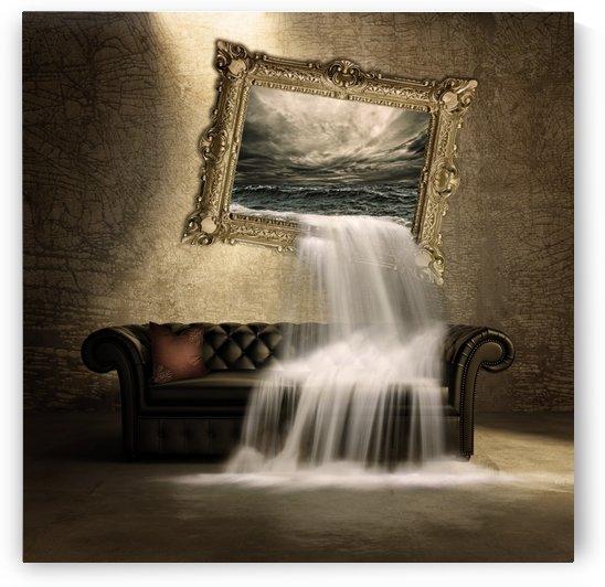 waterfall 1307510 by Artist Sabrina