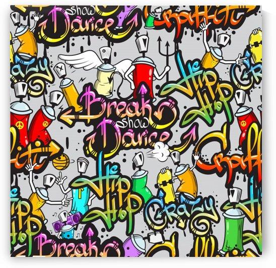hip hop background by Shamudy