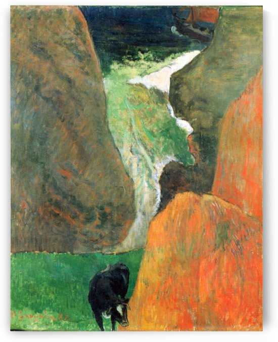 Hover Above the Abyss by Gauguin by Gauguin
