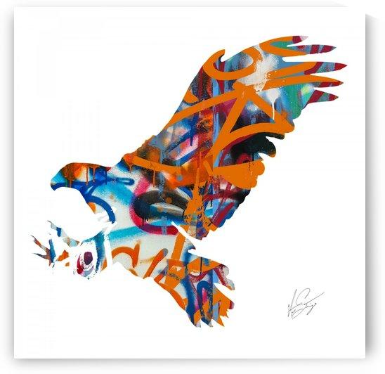 Graffiti Eagle  by  vincentsantiago