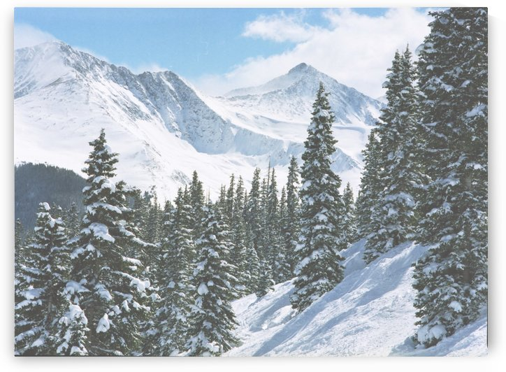 Pacific Peak from Copper Mountain by Steve Tohari