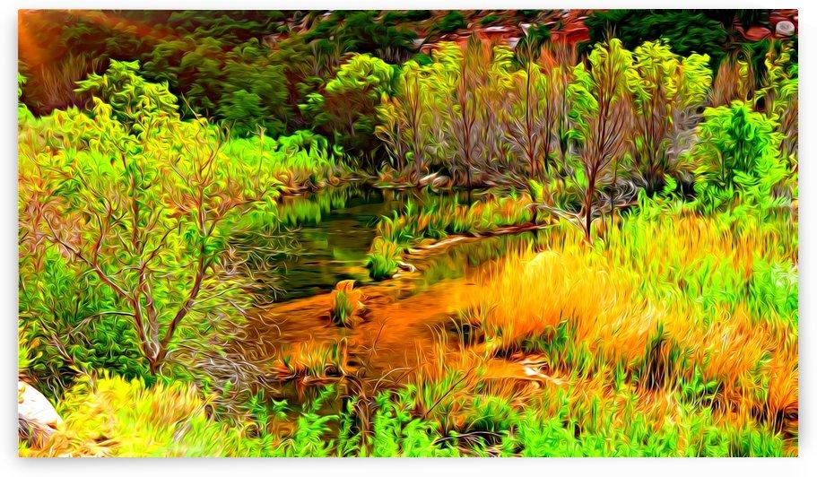 Calf Creek Art Edition by TJ Meagher