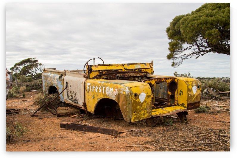 Vintage Land Rover Grave by TJ Weisenberger II