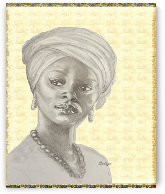 African Woman by Dehope