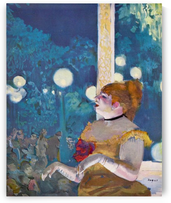 In concert Cafe - The Songs of the dog by Degas by Degas