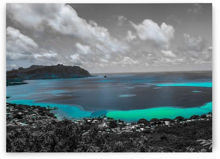 Kaneohe Bay in Neon   by John Kwak