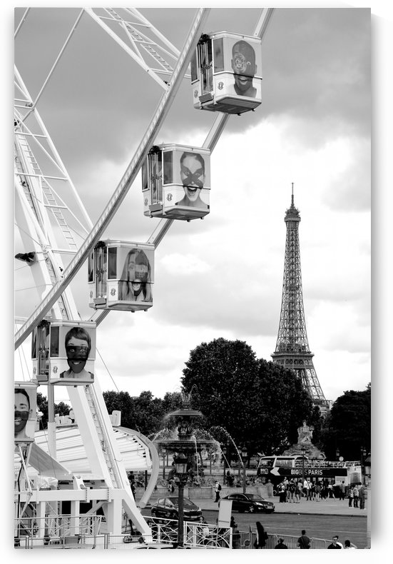 La grande roue by Bill Osuch
