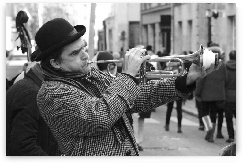 Musique rue des Francs Bourgeois by Bill Osuch