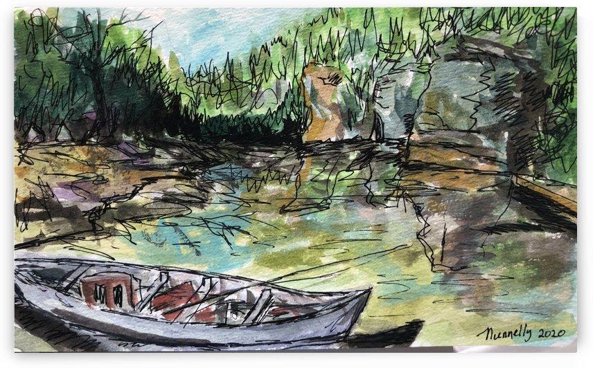 Piney River  by J HARRIS