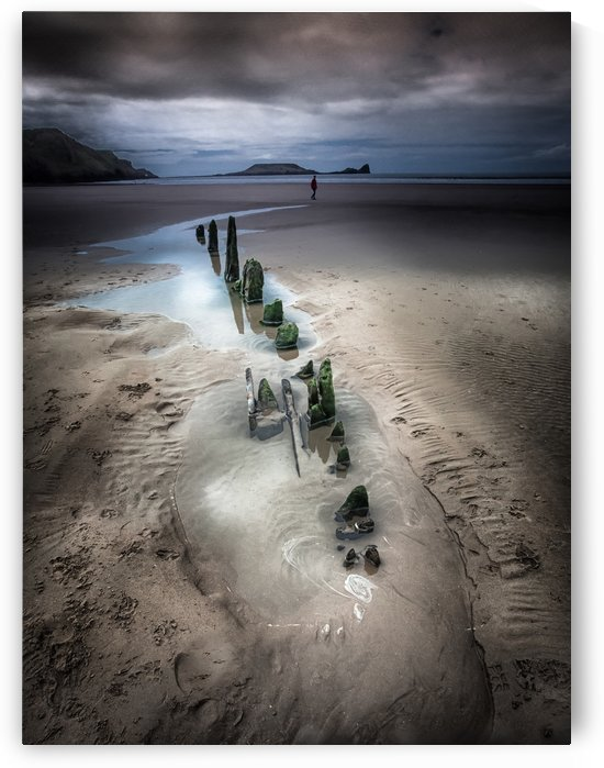 worms head rhossili bay by Leighton Collins