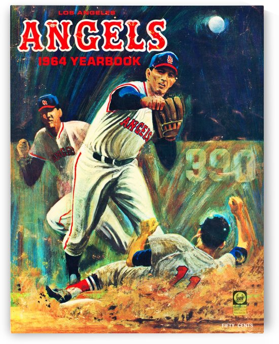1964 Los Angeles Angels by Row One Brand