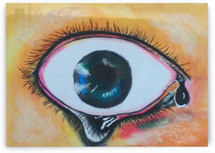 Painfull Eye by KokilaPriya
