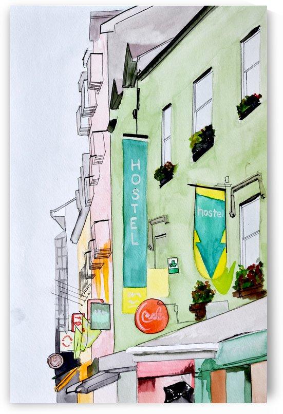 Irish Hostel by madartbymrl