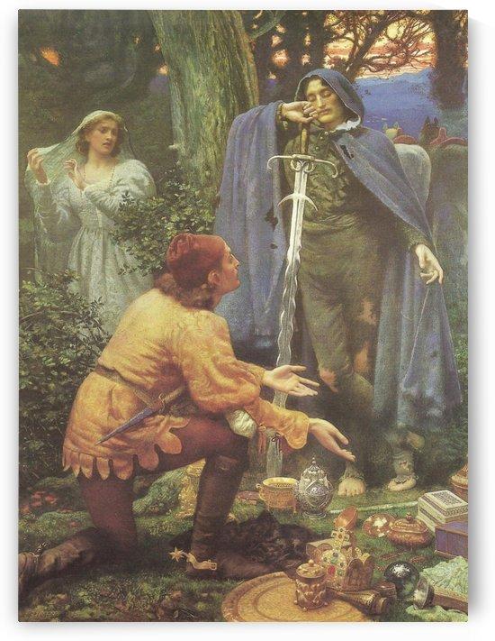 Bertuccio's Bride by Edward Robert Hughes