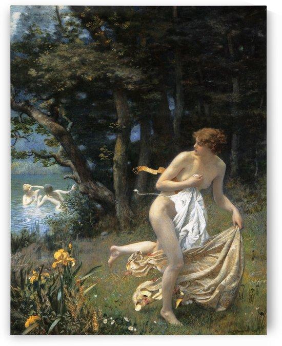 Diana's Maidens by Edward Robert Hughes