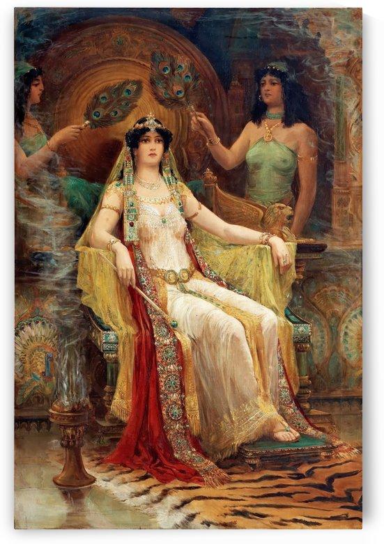 Queen of Saba by Edward Robert Hughes