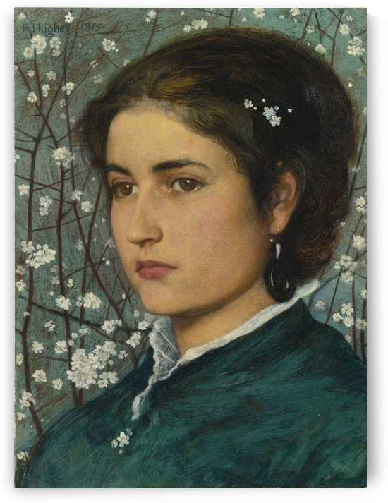 A Young Beauty by Edward Robert Hughes