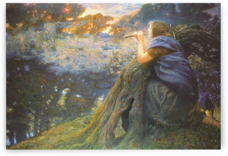 Twilight Fantasy Fairie by Edward Robert Hughes