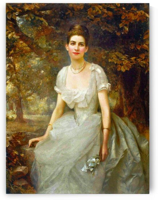 Portrait of Vere Monckton-Arundell by Edward Robert Hughes