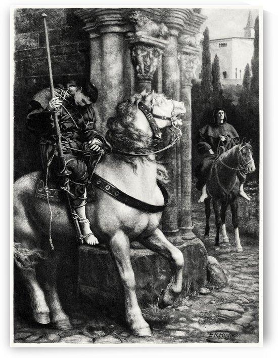 The dead rider by Edward Robert Hughes