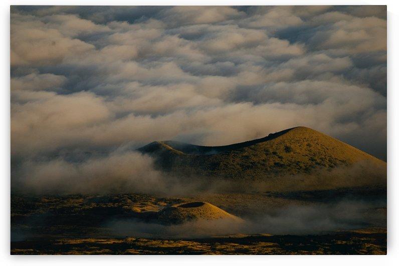 Ancient Cinder Cones in Mauna Kea Hawaii by  Matt Gragg