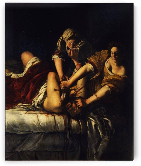 Giuditta decapita Oloferne by Artemisia Gentileschi