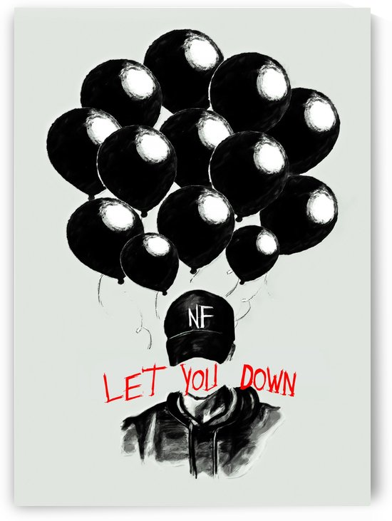 NF let you down by music splash