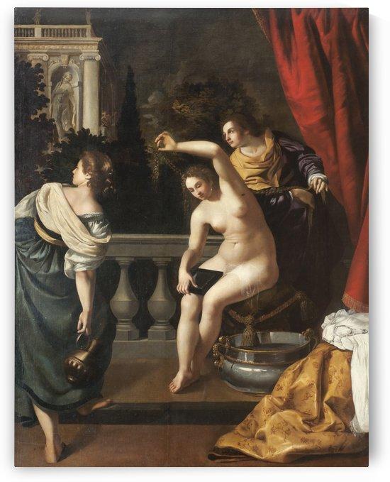 Betsabea al Bagno by Artemisia Gentileschi