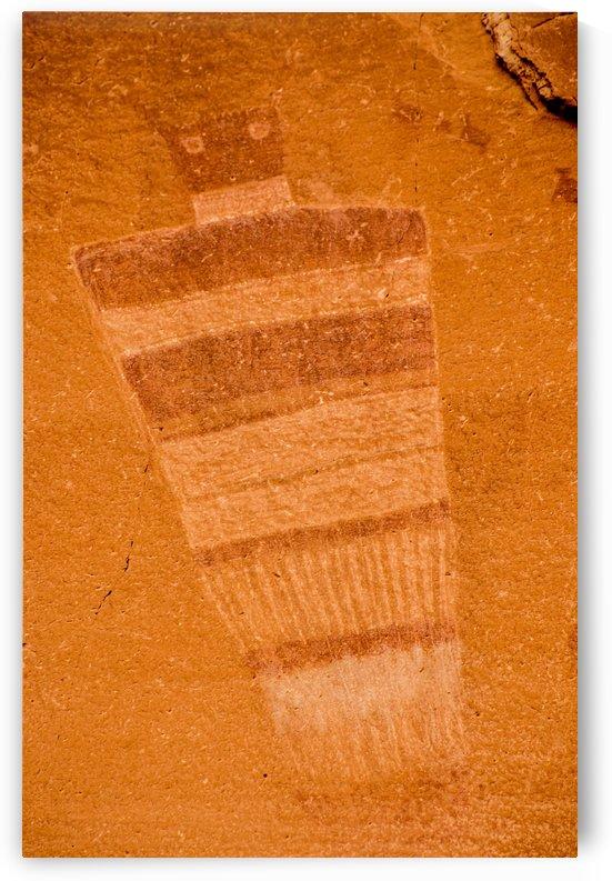 Horseshoe Canyon Great Gallery - Utah by Gary Whitton