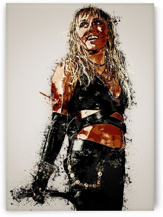 Miley Cyrus in Art 19 by RANGGA OZI