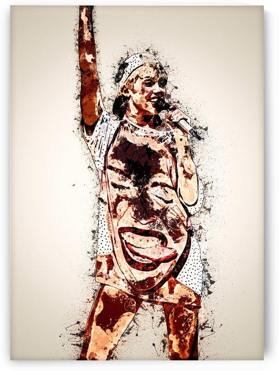 Miley Cyrus in Art 8 by RANGGA OZI