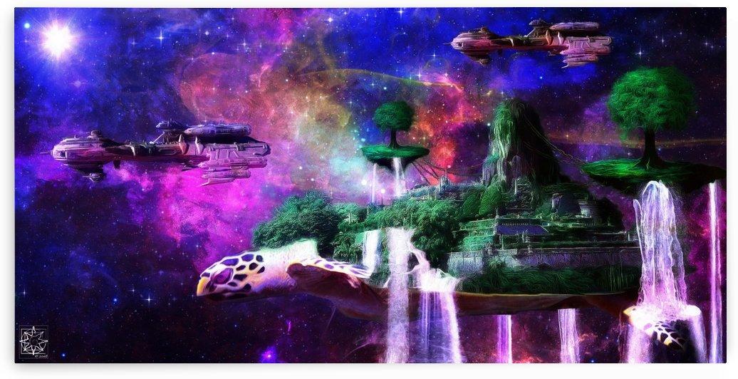 Intergalactic by ChrisHarrisArt