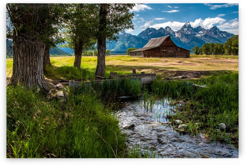 T.a. Moulton Barn - Grand Teton by Gary Whitton