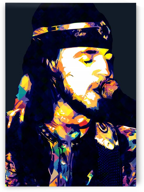 Stevie Ray Vaughan Pop Art 29 by RANGGA OZI