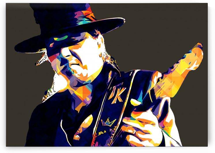 Stevie Ray Vaughan Pop Art 20 by RANGGA OZI