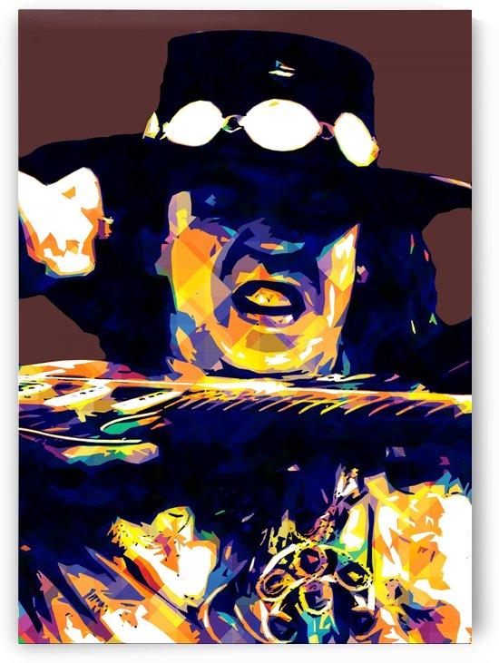 Stevie Ray Vaughan Pop Art 13 by RANGGA OZI