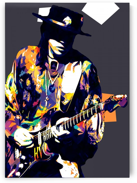 Stevie Ray Vaughan Pop Art 11 by RANGGA OZI