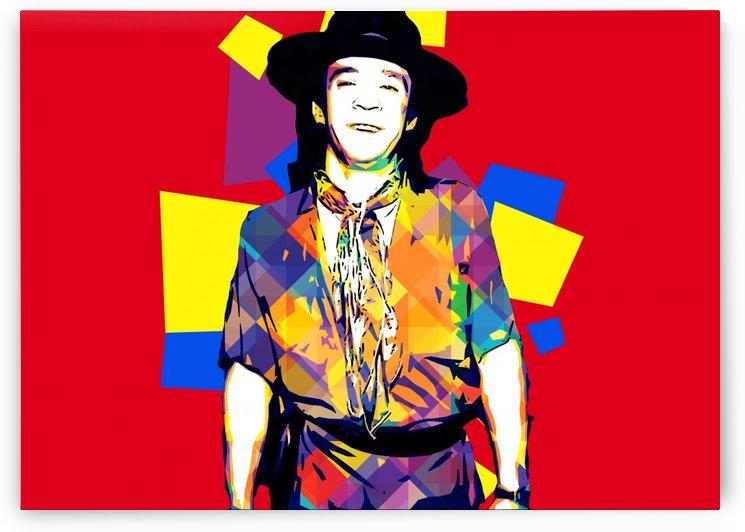 Stevie Ray Vaughan Pop Art 6 by RANGGA OZI