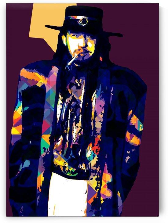 Stevie Ray Vaughan Pop Art 5 by RANGGA OZI