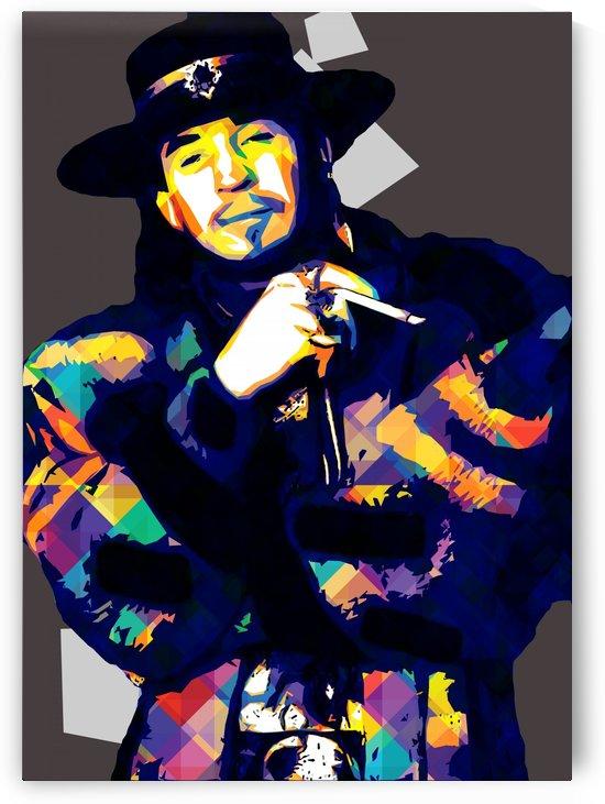 Stevie Ray Vaughan Pop Art 4 by RANGGA OZI