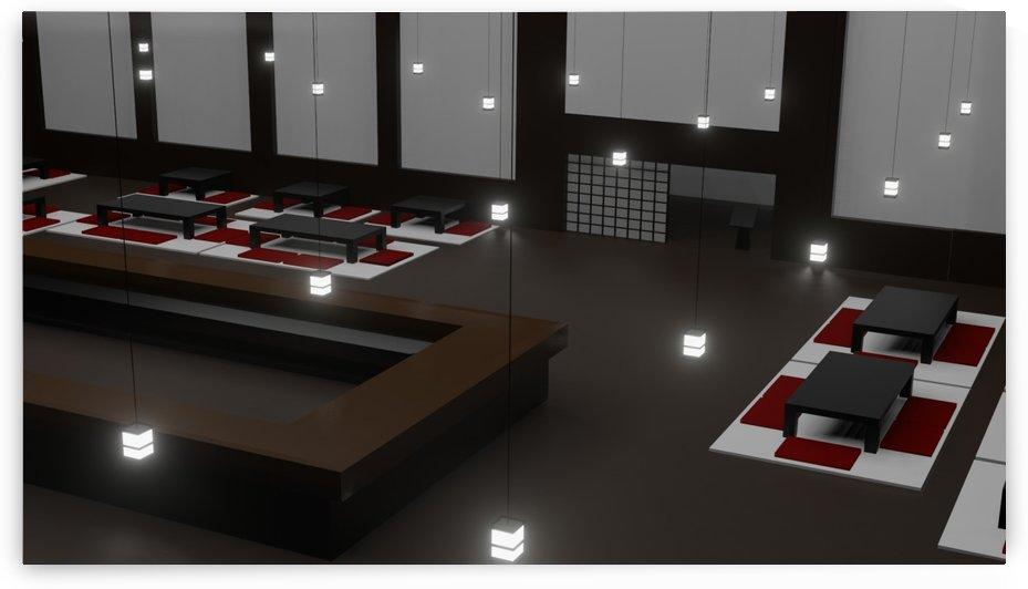 Japanese restaurant IV by Devil Ish