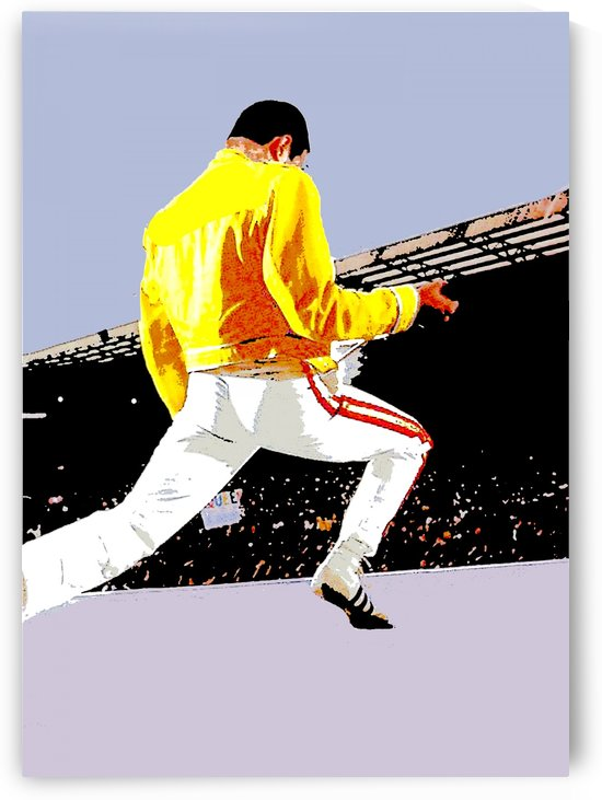 Freddie Mercury Yellow Jacket Show by RANGGA OZI