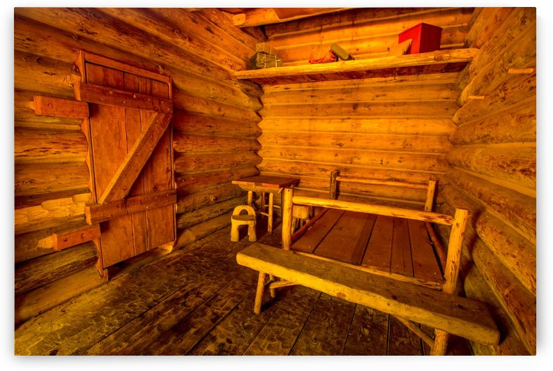 Charbonneau Family Quarters - Fort Clatsop - Lewis and Clark by Gary Whitton