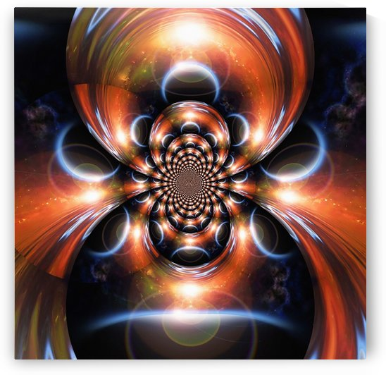 Eclipse Fractal by Bruce Rolff