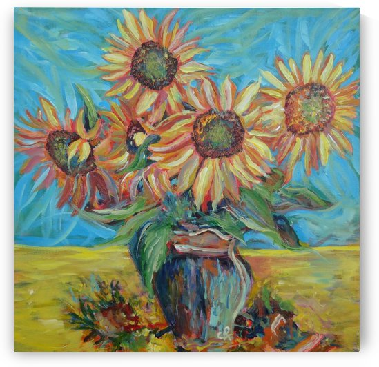 Sunflowers  by Chris Rutledge