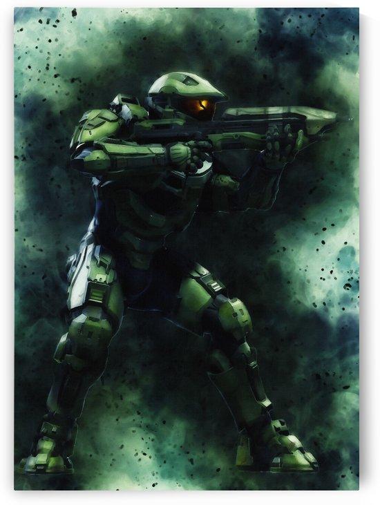 Halo master chief by Gunawan Rb